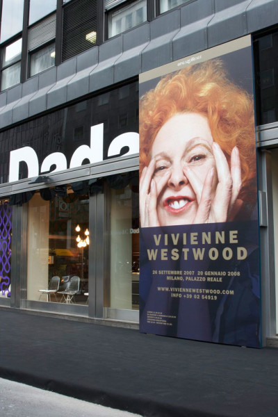 installazione Vivienne Westwood